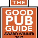 We are beaming here as The Good Pub Guide awards us one of the Top Ten Pubs in the UK