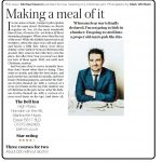Saturday Telegraphs' Michael Deacon reviews the Bell