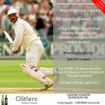 English sporting legend Graham Gooch joins us…